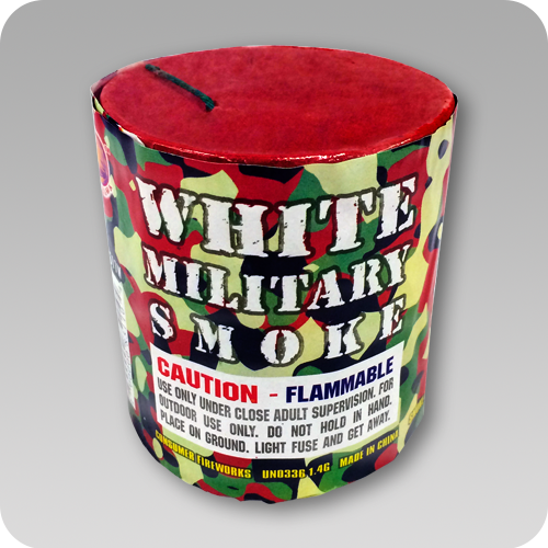 Smoke Bomb Canister White