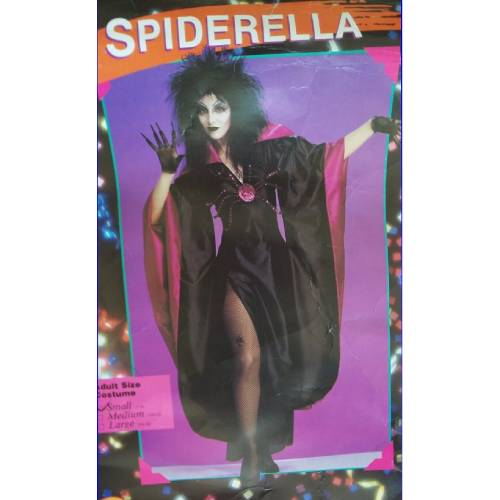 SPIDERELLA Adult Female Costume by Rubie