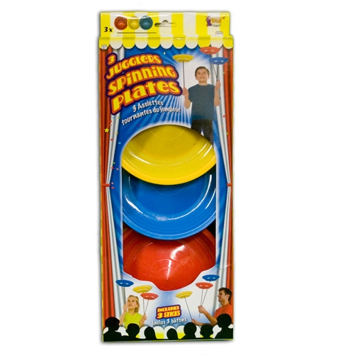 Juggling Spinning Plate and Stick Set