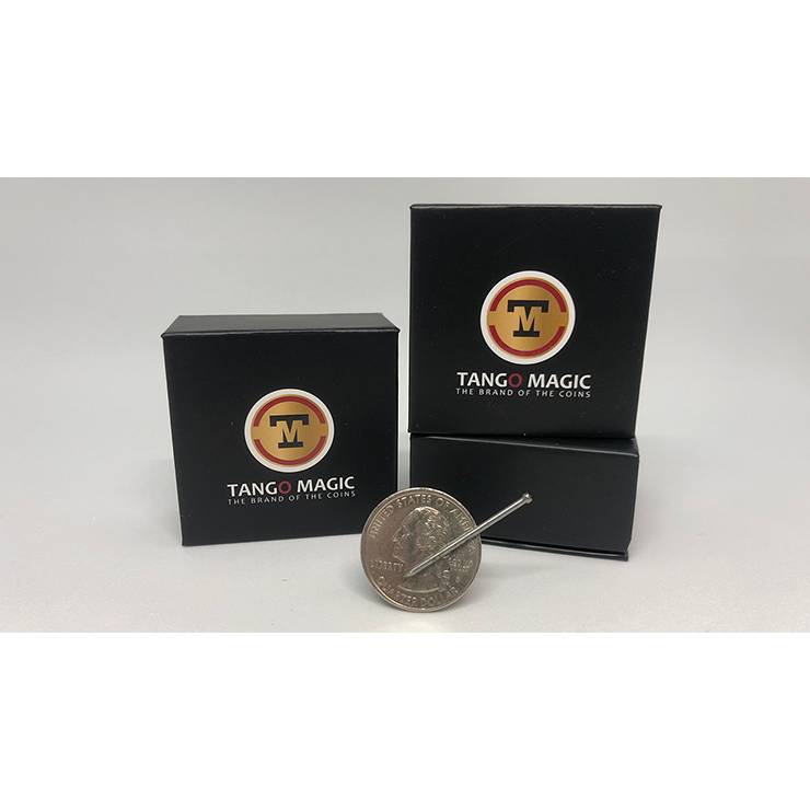 Magnetic Coin D0026(Quarter Dollar) by Tango Trick
