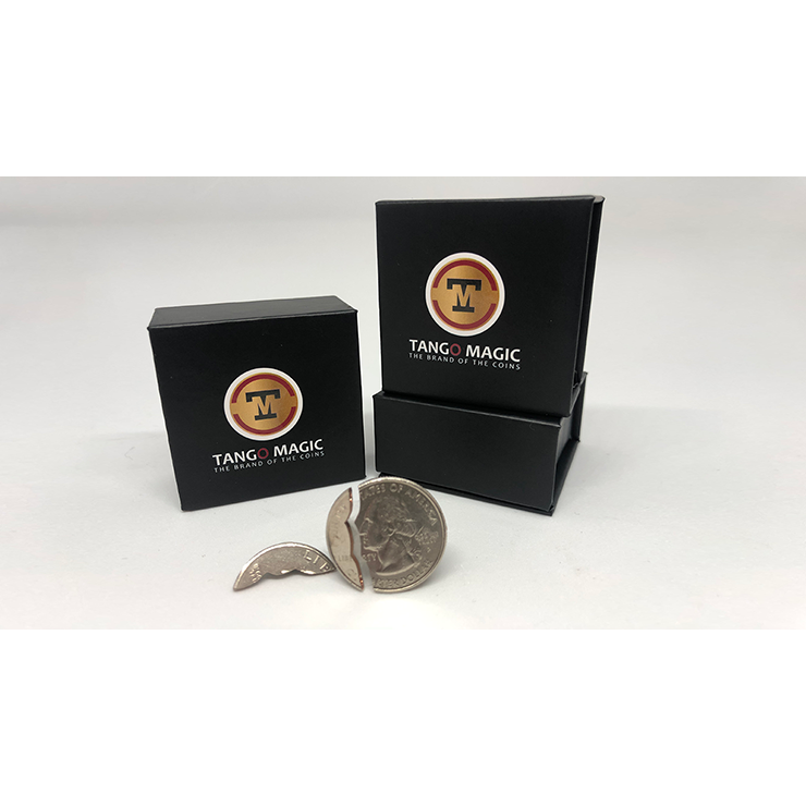 Bite Coin (US Quarter Traditional With Extra Piece)(D0047)by Tango Trick