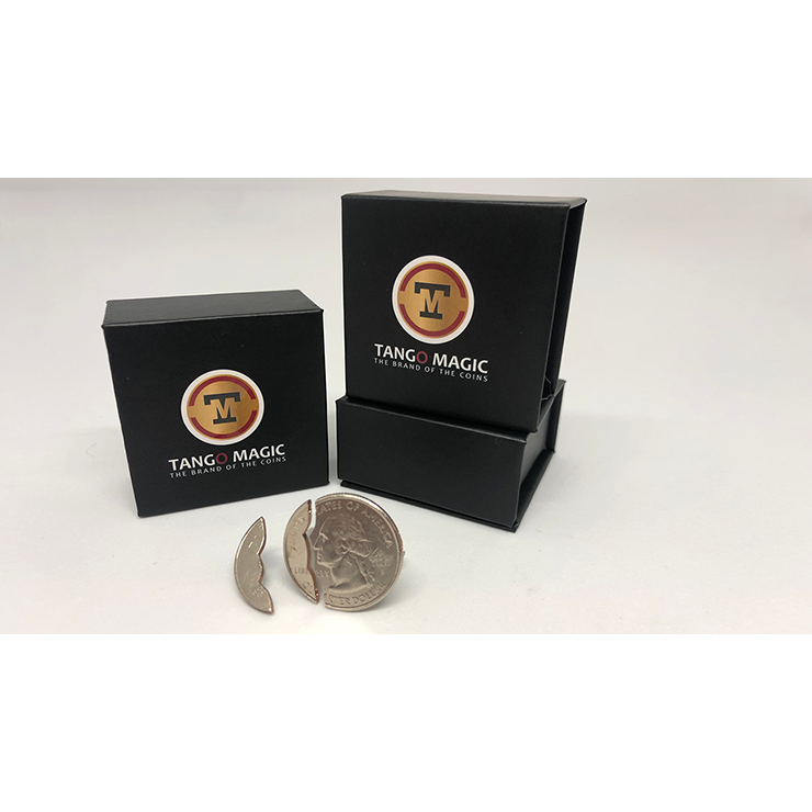 Bite Coin US Quarter (Internal With Extra Piece) (D0045)by Tango Trick