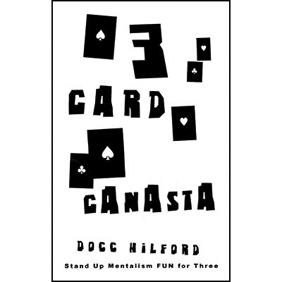 3 Card Canasta ( Color Varies )by Docc H