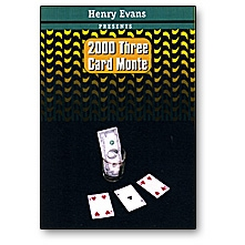 3 Card Monte 2000 by Henry Evans Trick