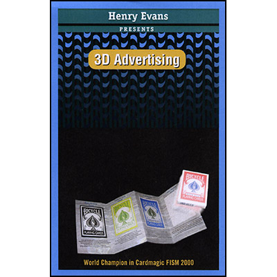 3D Advertising by Henry Evans Trick
