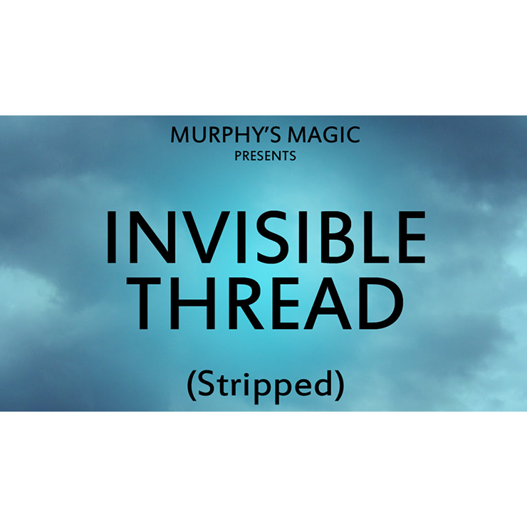 Invisible Thread Stripped Trick