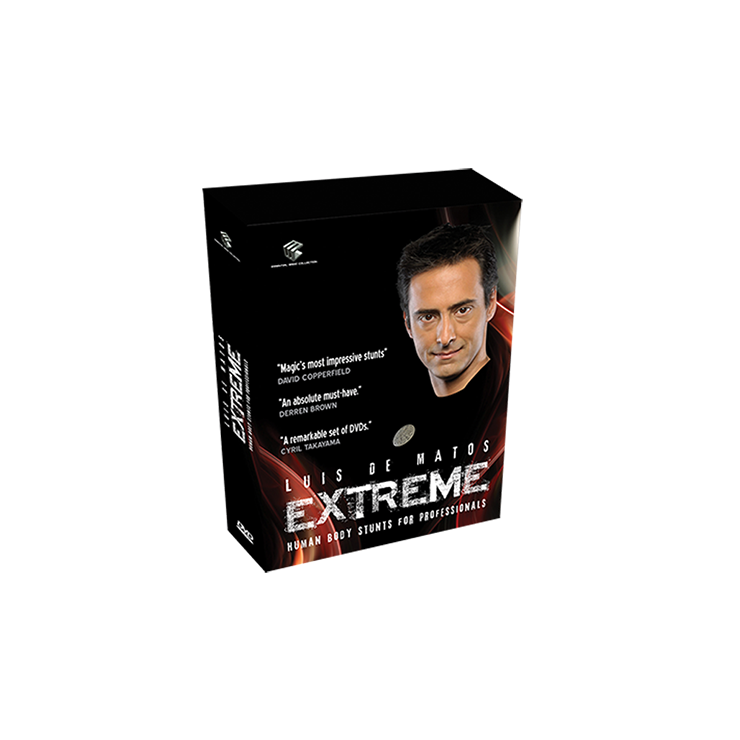 Extreme (Human Body Stunts) 4 DVD Set by