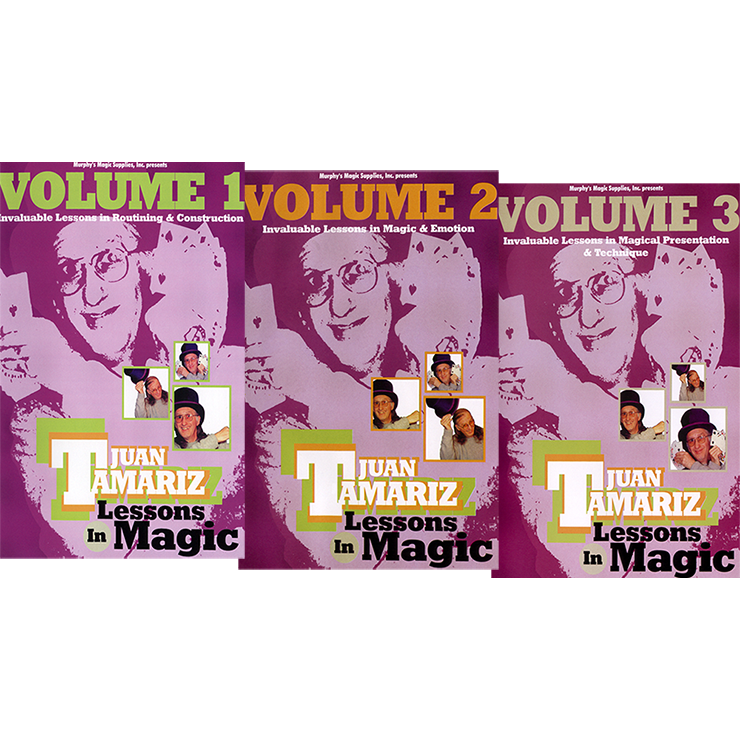 3 Vol. Combo Juan Tamariz Lessons in Mag