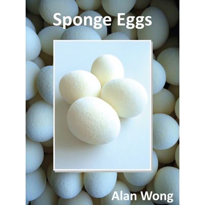Sponge Eggs (4pk.) by Alan Wong Trick