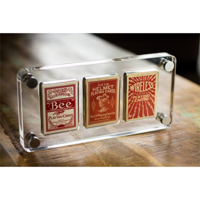 3 Deck Card Case by Gamblers Warehouse Trick