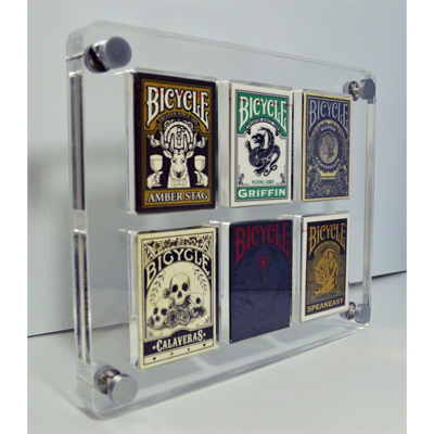 6 Deck Card Case by Gamblers Warehouse Trick