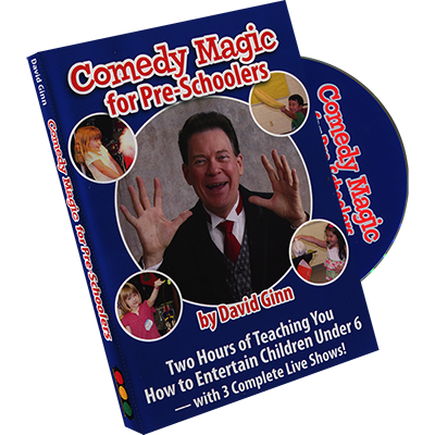 Comedy Magic for Pre Schoolers by David Ginn DVD