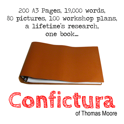 Confictura by Thomas Moore Book
