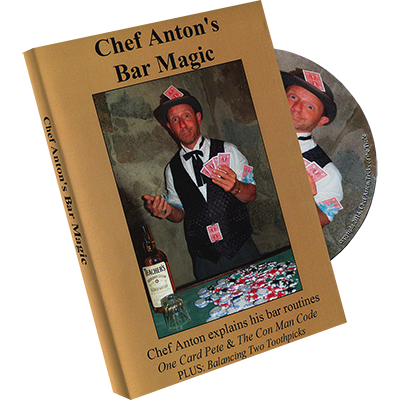 The Bar Magic of Chef Anton by Chef Anton DVD