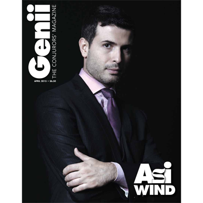 "Genii Magazine ""Asi Wind"" April 2015 Boo"
