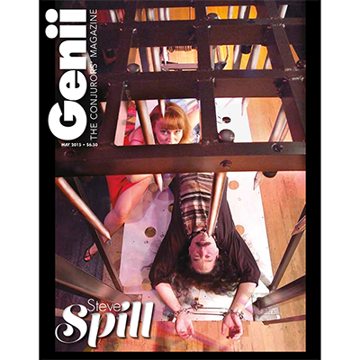 "Genii Magazine ""Steve Spill"" May 2015 Bo"