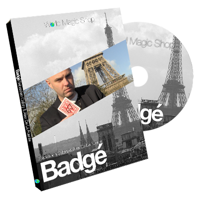 Badge (DVD and Gimmick) by Alexis De La Fuente and Sebastien Calbry DVD