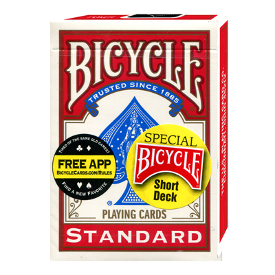 Bicycle Short Deck (Red) by US Playing Card Co. Trick