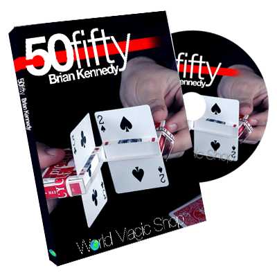 50 Fifty (DVD and Gimmick) by Brian Kenn