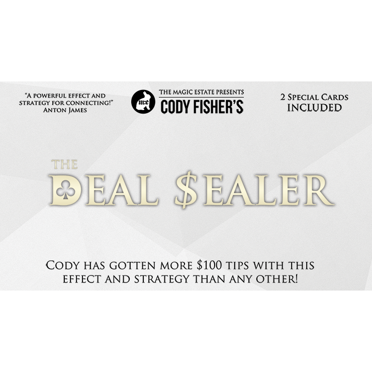 Deal Sealer by Cody Fisher Trick