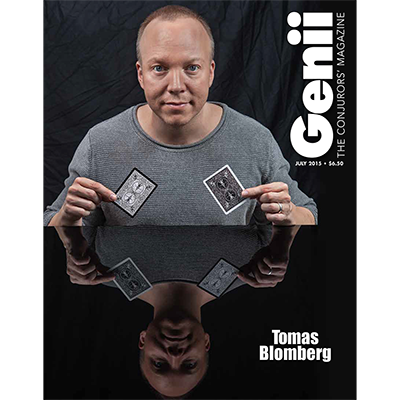 "Genii Magazine ""Thomas Blomberg"" July 20"