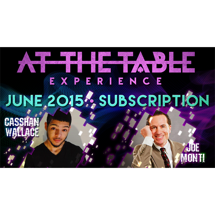 At The Table June 2015 Subscription Vide