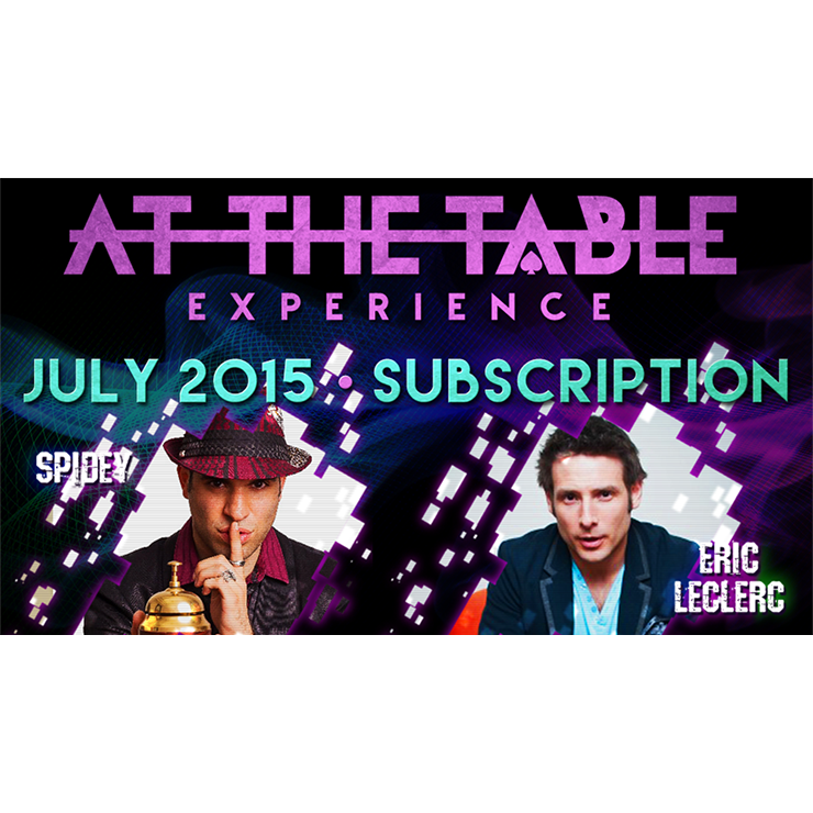At The Table July 2015 Subscription Vide