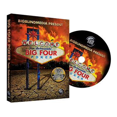 Big Four Poker (DVD and Gimmick) by Tom