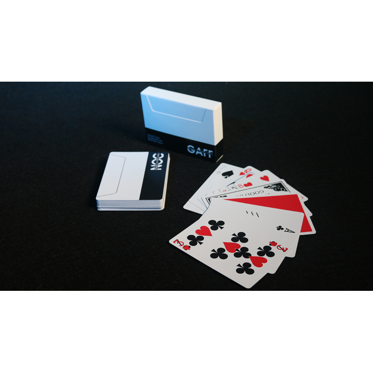 NOC V3S Gaff Deck (Black) by The Blue Crown Trick