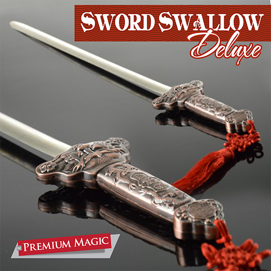Sword Swallow Deluxe by Premium Magic Trick
