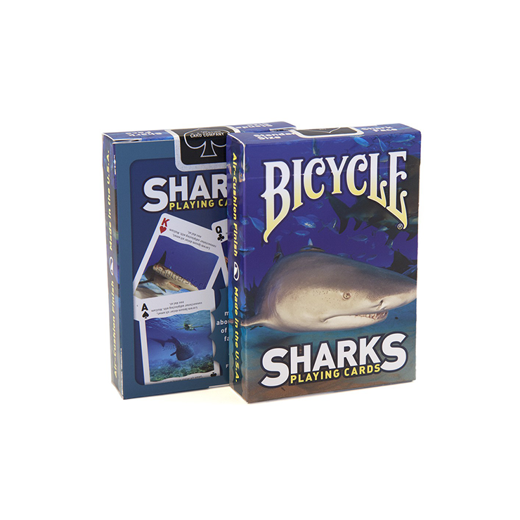 Bicycle Sharks Playing Cards by US Playi