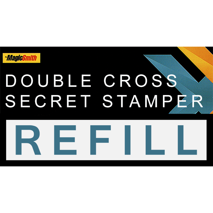Secret Stamper Part (Refill) for Double Cross by Magic Smith Trick