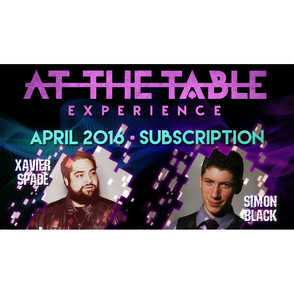 At The Table April 2016 Subscription vid