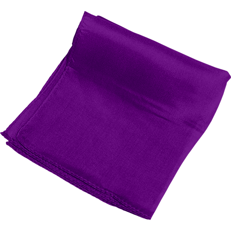 Silk 24 inch (Violet) Magic by Gosh Trick