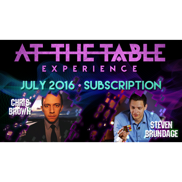 At The Table July 2016 Subscription vide