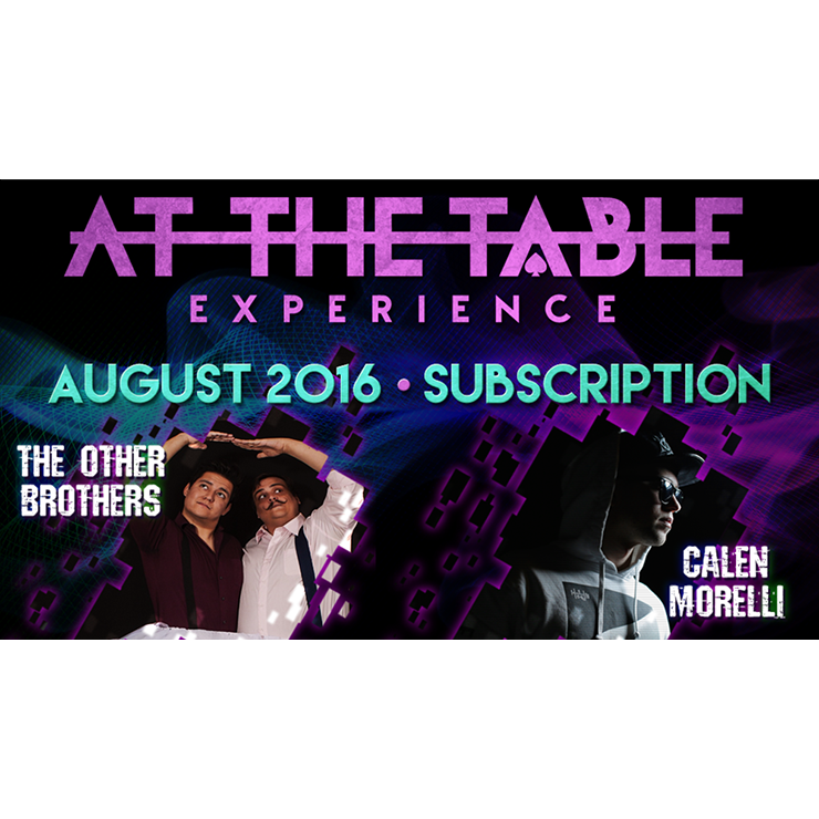 At The Table August 2016 Subscription vi
