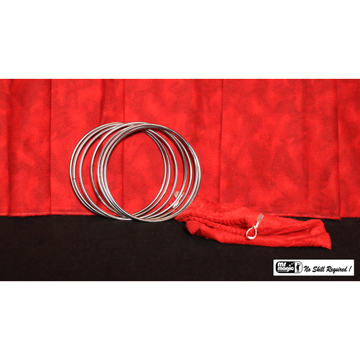 "5"" Linking Rings SS (7 Rings) by Mr. Mag"