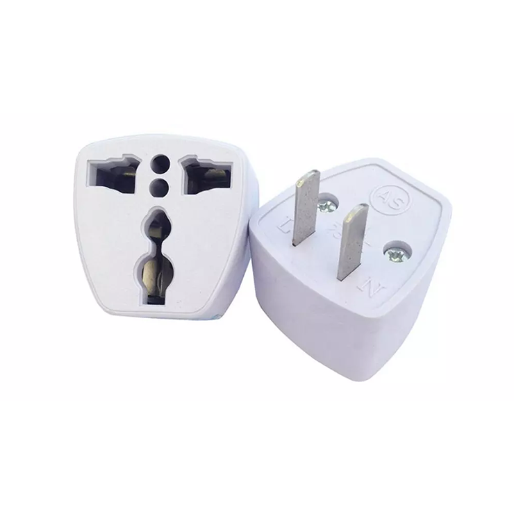AC Electrical Power UK AU EU To US Plug Adapt