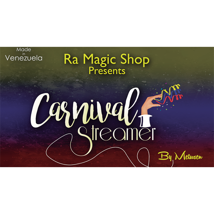 Carnival Streamer Christmas (Red White a