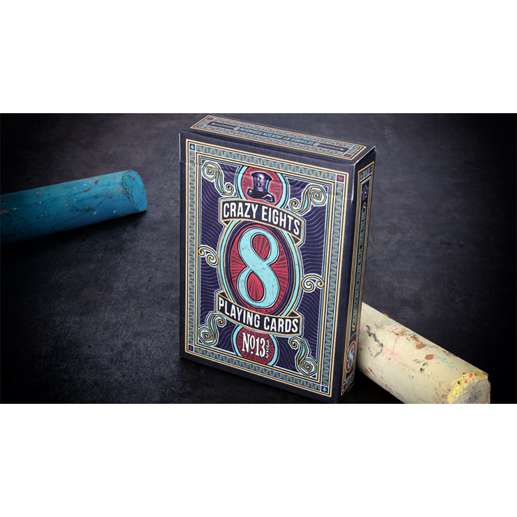 Crazy 8s Playing Cards by Kings Wild Project