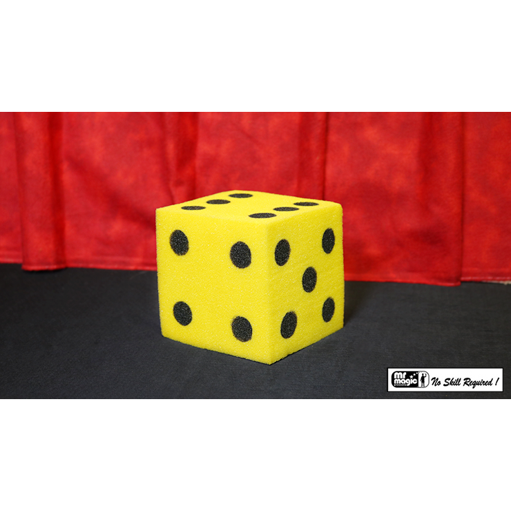 Ball To Dice (Yellow/Black) by Mr. Magic Trick
