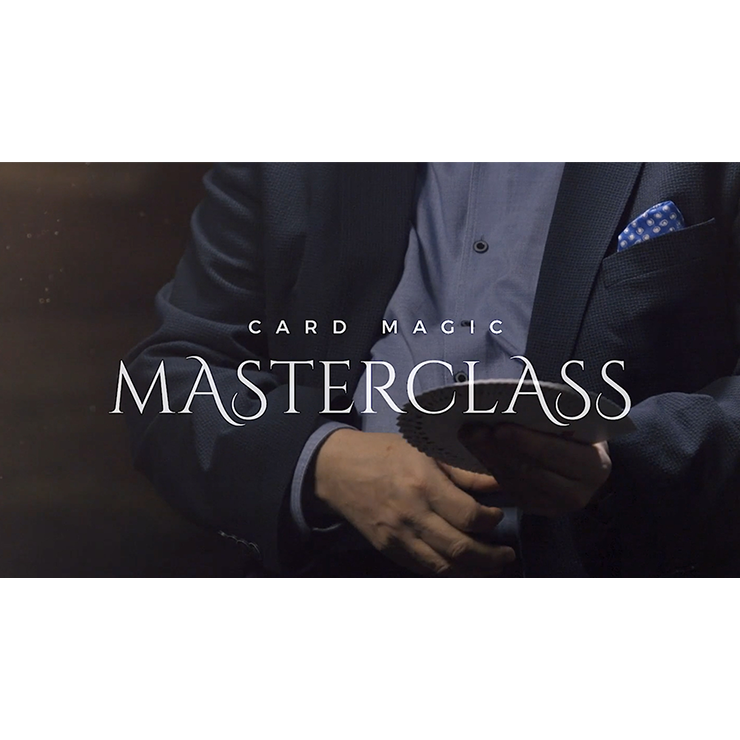 Card Magic Masterclass (5 DVD Set) by Roberto Giobbi DVD