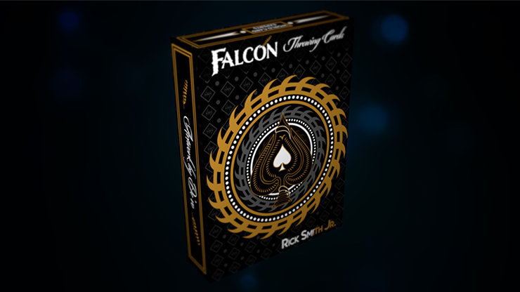 Falcon Throwing Cards by Rick Smith Jr. and Devo