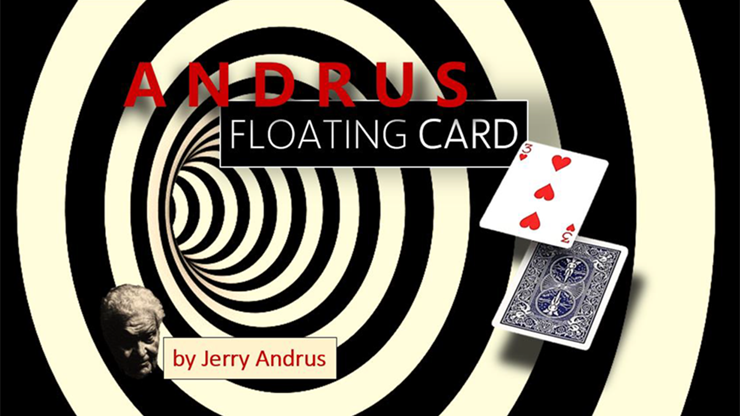 Andrus Floating Card Red (Gimmicks and O