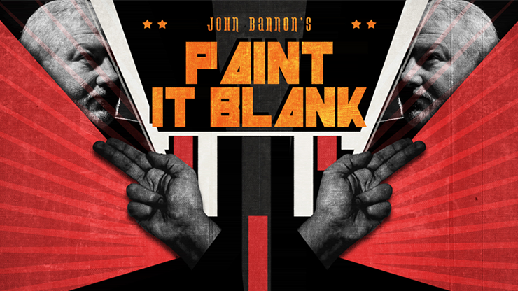 John Bannons PAINT IT BLANK (Gimmicks and DVD) DVD
