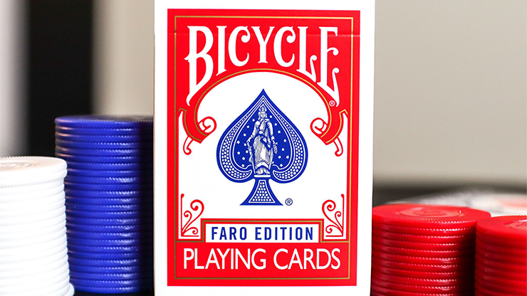 Limited Edition Bicycle Faro (Red) Playi