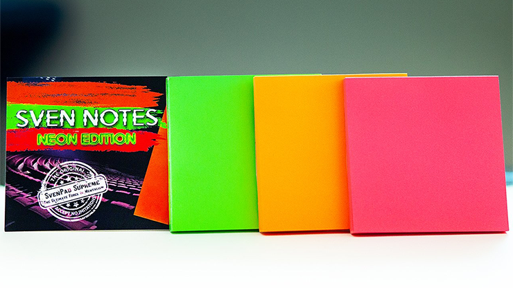 Sven Notes NEON EDITION (3 Neon Sticky Notes