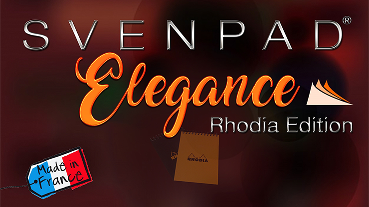 SvenPad Elegance Rhodia Edition (Single Black Cover) Trick