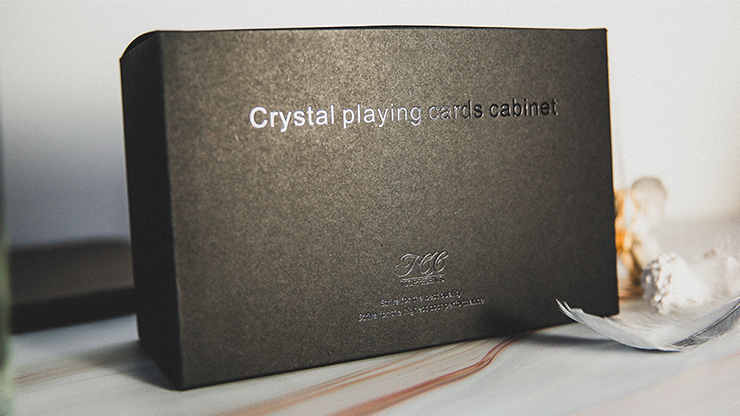Crystal Playing Cards Cabinet by TCC Trick