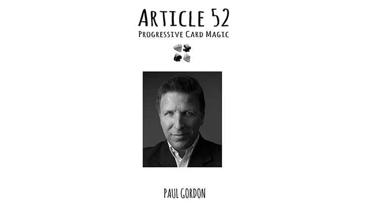Article 52 by Paul Gordon Book